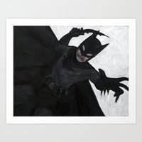 The Bat-Man Art Print
