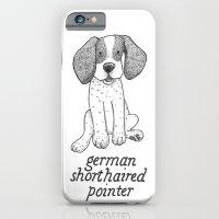 Dog Breeds: German Shorthaired Pointer iPhone 6 Slim Case