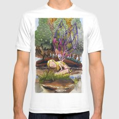 Fairy White SMALL Mens Fitted Tee