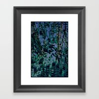 Peaceful Evening Framed Art Print