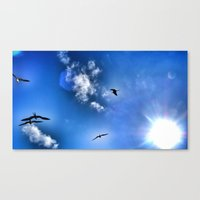 Open Sky Canvas Print
