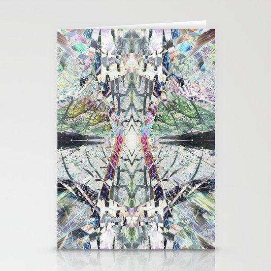 Kaleidoscopic Diamonds Stationery Card