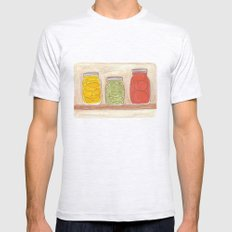 Canning Mens Fitted Tee Ash Grey SMALL