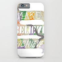 iPhone & iPod Case featuring Make-Believe-Achieve by Carley Lee