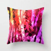 Forest Madness Throw Pillow