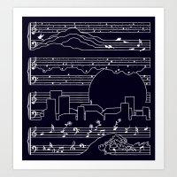 The Moonlight Sonata Art Print