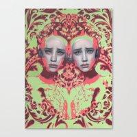 Amazon By Alex Garant Canvas Print
