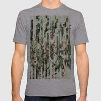 Flowr_02 Mens Fitted Tee Athletic Grey SMALL