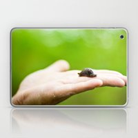 a slug in the hand Laptop & iPad Skin