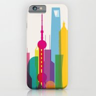 Shapes Of Shanghai. Accu… iPhone 6 Slim Case