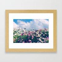 Spring Things Framed Art Print