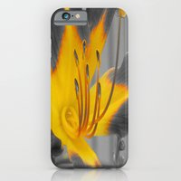 iPhone & iPod Case featuring A Bit of Yellow by Elizabeth Tompkins