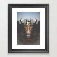 FA$T FOOD Framed Art Print