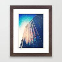 City Skies Framed Art Print