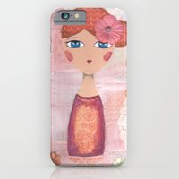 iPhone & iPod Case featuring May the Angels show you the way by ArtByBeata