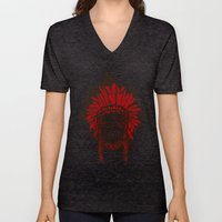 faceless (Indian) Unisex V-Neck