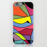 iPhone Cases featuring Color Abstract by Regan's World