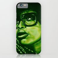 Badu?!-green iPhone 6 Slim Case