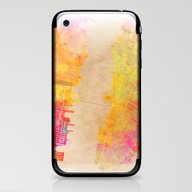New York City Map Colore… iPhone & iPod Skin