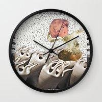 Lil Cyborg Wall Clock