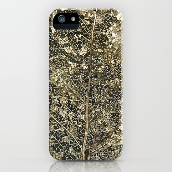 Old gold iPhone & iPod Case
