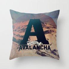 AVALANCHA Throw Pillow