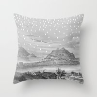 Euria Donostian Throw Pillow