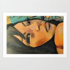 Lindy (detail) Art Print