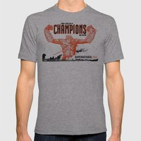 A LONG LINE Mens Fitted Tee Athletic Grey SMALL