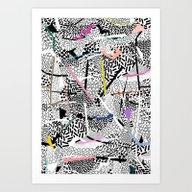 Graphic 83 Art Print
