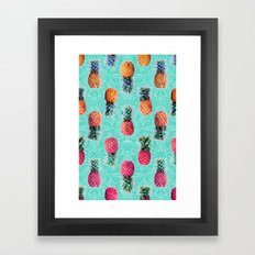 From Pineapple To Pink -… Framed Art Print