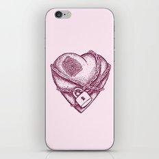 My Locked Heart iPhone & iPod Skin