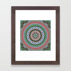 Hippie Mandala 14 Framed Art Print