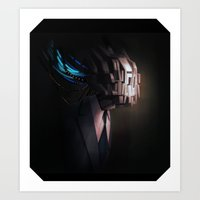 head test Art Print