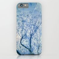 Blue Winter Blossoms  iPhone 6 Slim Case