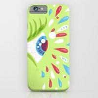 Psychedelic Eye iPhone 6 Slim Case