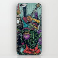 Sid Squish And The Death… iPhone & iPod Skin
