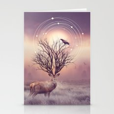 In The Stillness Stationery Cards