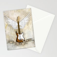 Live Life Loud Stationery Cards