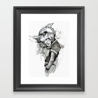 Dream Cycle Framed Art Print