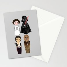 Kokeshis Star W Stationery Cards