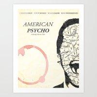 American Psycho Minimali… Art Print