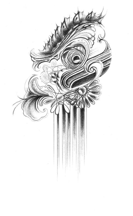 caterpillar Art Print