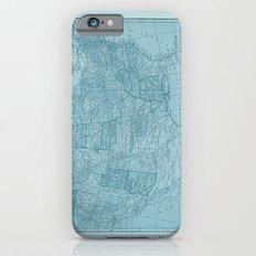 Vintage America in Blue iPhone 6s Slim Case