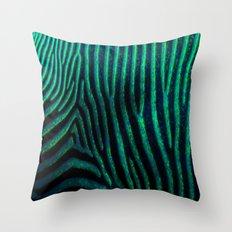Zebra Path Throw Pillow