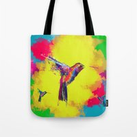 COLOUR EXPLOSION HUM Tote Bag