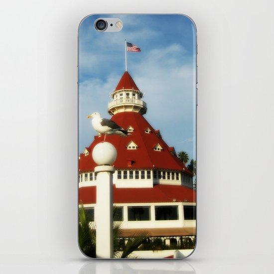 Hotel Del Coronado iPhone & iPod Skin