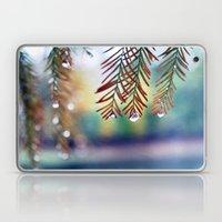 Pine Drops Laptop & iPad Skin