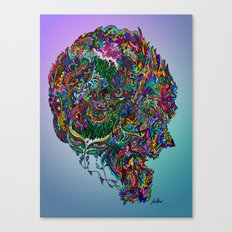 Consciousness on Fire Canvas Print