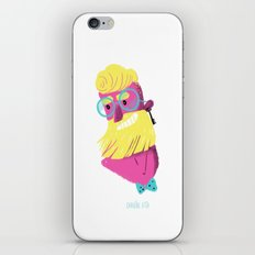 Hipster Beard iPhone & iPod Skin